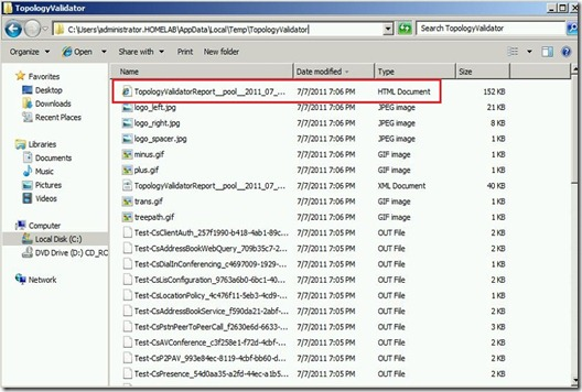 Lync - TPV - file location - markup