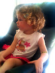 Jan 7 - Audrey is transfixed by Playschool on TV