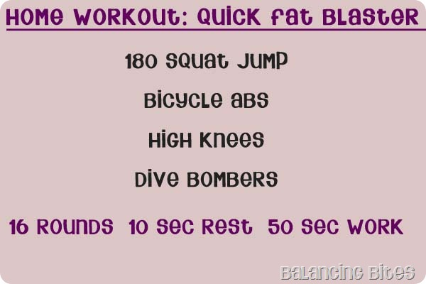 Home Workout Quick Fat Blaster