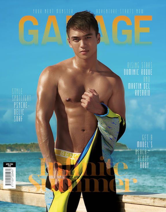 Dominic Roque Garage Magazine
