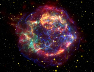 supernova remanescente Cassiopeia A