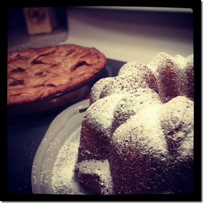 Apple Pie & Bunt Cake