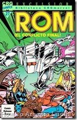 P00027 - ROM - Biblioteca Marvel #27