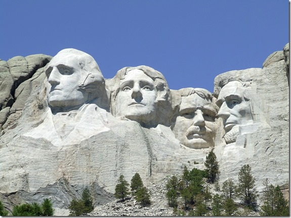 Full view of Mount Rushmore - National Parks Image