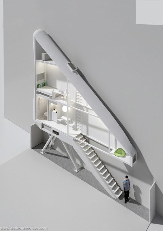 casa-apartamento-mais-estreito-do-mundo-polonia-keret-house-desbaratinando (7)