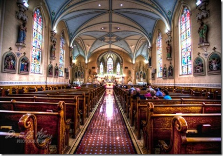 Louisville Wedding Church - St Martin of Tours Catholic Church by Danelle Alexis Photography