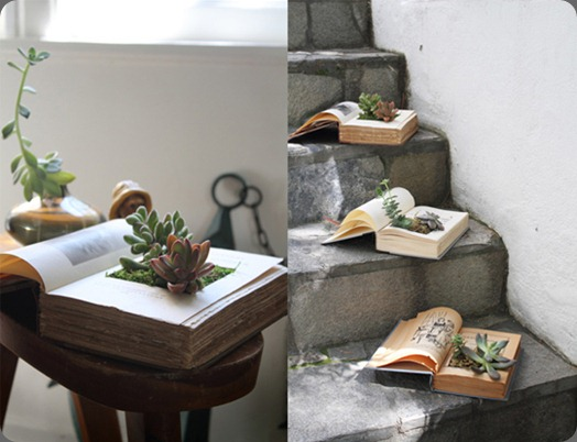 DIYBookPlanter-Final1 apartment therapy