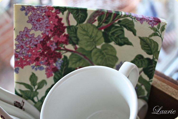 flowers napkns