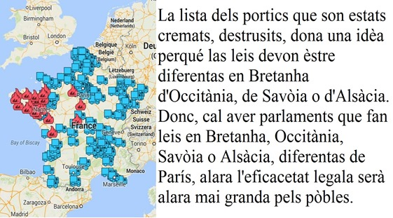 Portics e leis centralistas francesas