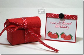 sweet card & box