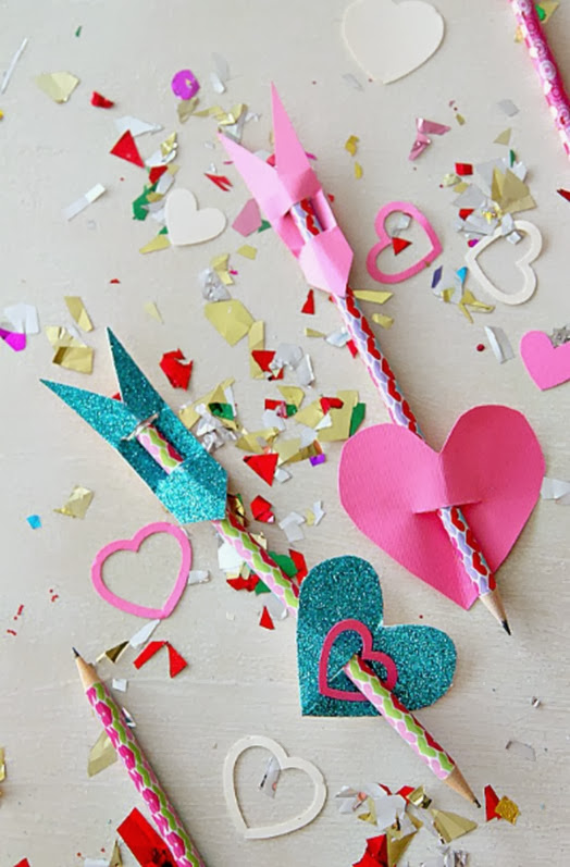 cupids arrows valentines