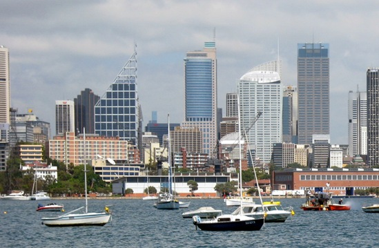 Sunny Sydney Harbour