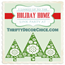 Holiday home Thrifty decor chick
