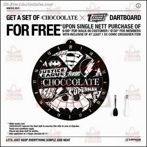 FREE Dartboard at i.t Labels Singapore Jualan Gudang Jimat Deals EverydayOnSales Offers