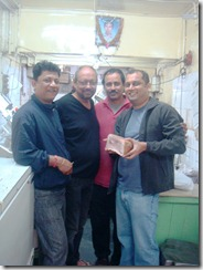 with ananda, Anjan Dutt & Sujoy