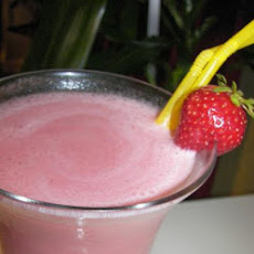 Frozen Strawberry Banana Colada