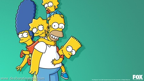wallpapers os simpsons desbaratinando papel de parede the simpsons  (3)