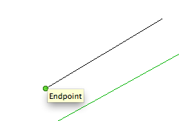 Green end point