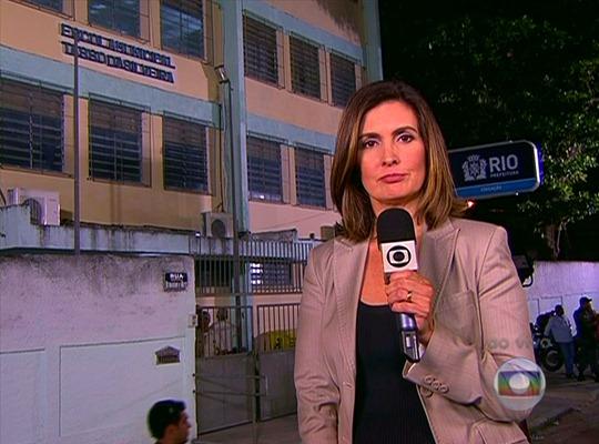 """Fátima Bernardes do """"Jornal Nacional"""" - Foto: Reprodução/TV Globo"""