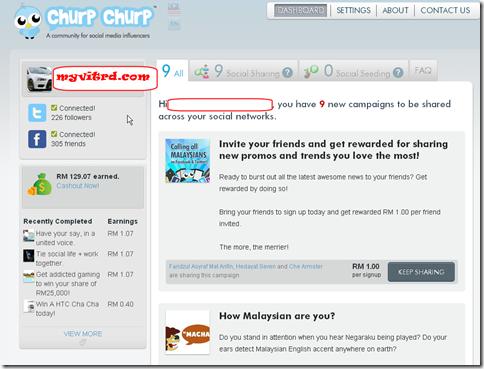 churp churp earning 2011
