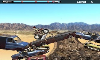 Screenshot of Desert Rider : Racing Moto