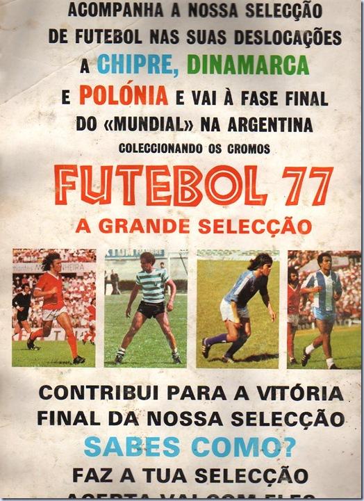 futebol 77 caderneta cromos int2