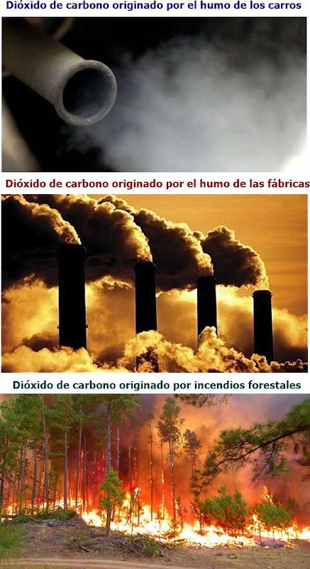Contaminación ambiental - Dióxido de carbono