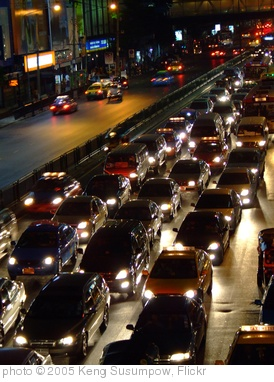 'Bangkok traffic jam' photo (c) 2005, Keng Susumpow - license: http://creativecommons.org/licenses/by/2.0/