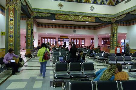 Sala asteptare Paro Airport