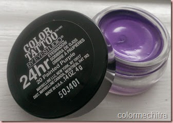 Chitra Pal 20 Painted Purple Maybelline Color Tattoo