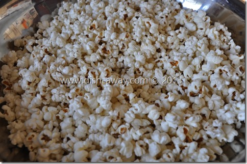 Caramel Popcorn Recipe by www.dish-away.com