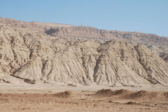 Route de Turfan - montagnes tianshan