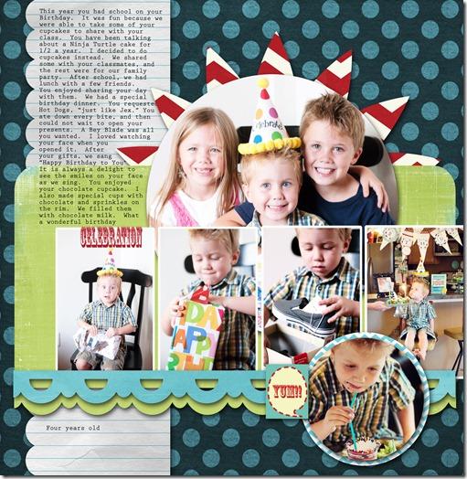 Isaacs fourth birthday 2 copy