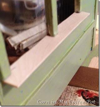 Paint- window ledge