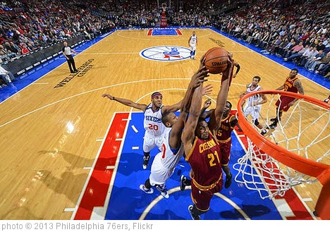 '182407444_Cavs_Sixers0396' photo (c) 2013, Philadelphia 76ers - license: https://creativecommons.org/licenses/by-nd/2.0/