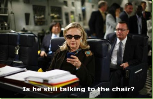 hillary inquires about BHO nightly rounds