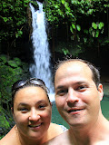 Self-Portrait At Emerald Pool - Roseau, Dominica
