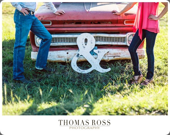Vintage Dallas Engagement Session