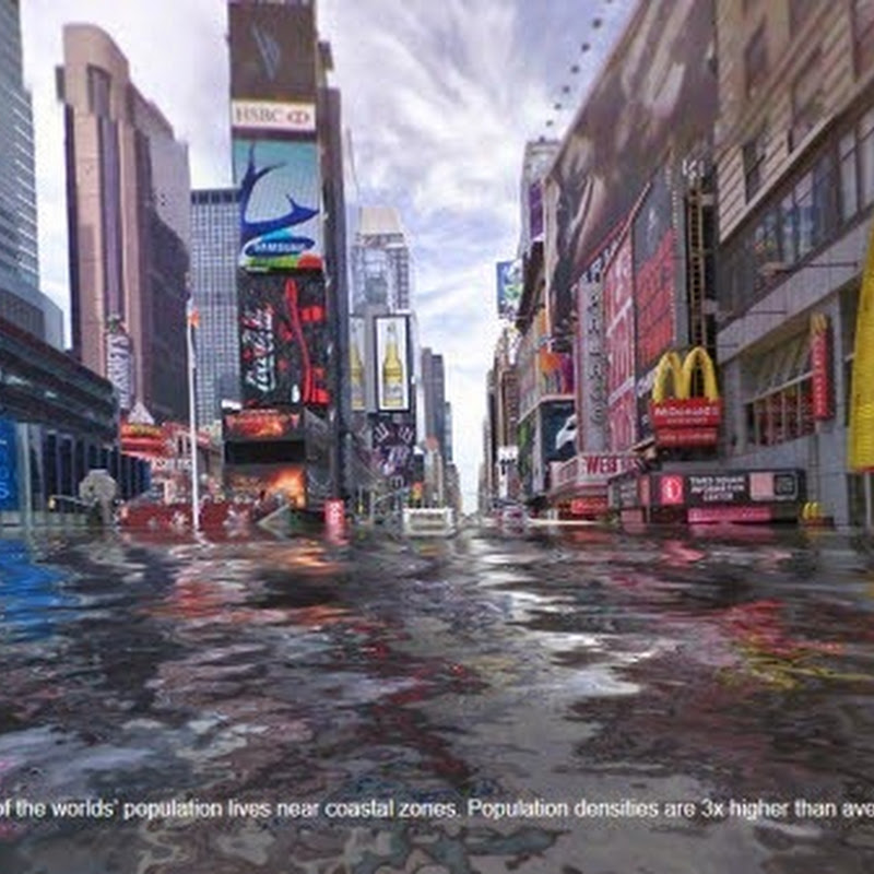 Use Google Streetview to See What Cities Around The World Look Like Flooded