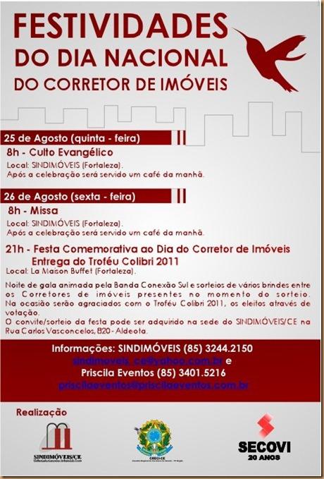 SINDIMOVEIS - DIA DO CORRETOR