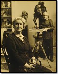 Charlotte van Pallandt, escultora - con Piet Esser