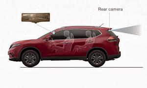 Nissan 智能后视镜:车后景象一览无余