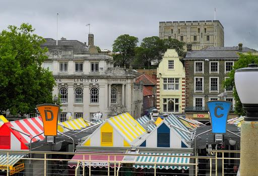 Norwich United Kingdom  city photos gallery : Norwich Market Stalls, England, United Kingdom
