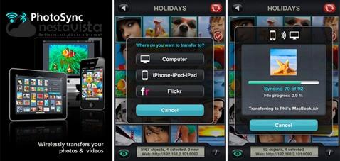 Photosync para iOS