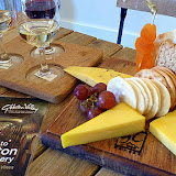 Wine and Cheese Board at Gibston Valley Winery and Cheesery - Gibbston, New Zealand