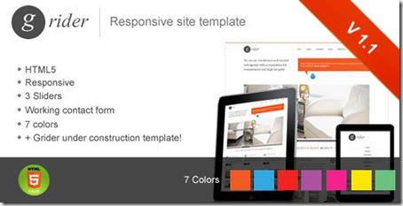 Grider-responsive-website-template