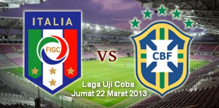 Friendly Italia vs Brazil