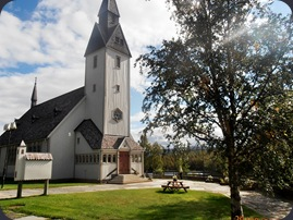Tärnaby kyrka.