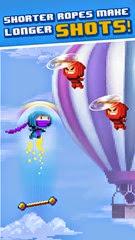 لعبة النينجا النطاط للأيفون والأيباد Ninja UP! - 2