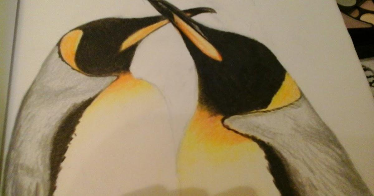 dibujo de pingüinos